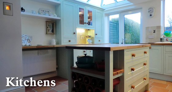 Joinery - fitted kitchens