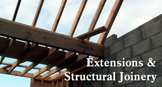 structural joinery and house extensions